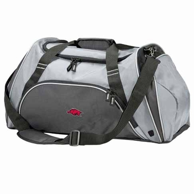 Arkansas Action Duffle (Color: Grey)