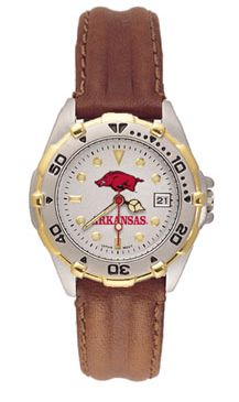 Arkansas All Star Womens (Leather Band) Watch
