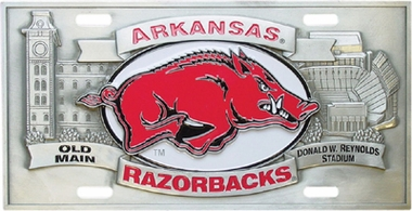Arkansas Deluxe Collector's License Plate
