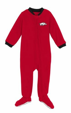Arkansas Infant Footed Sleeper Pajamas