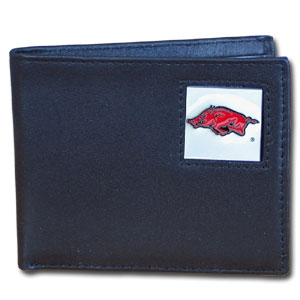 Arkansas Leather Bifold Wallet (F)