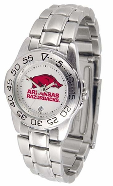 Arkansas Sport Steel Band Womens Watch