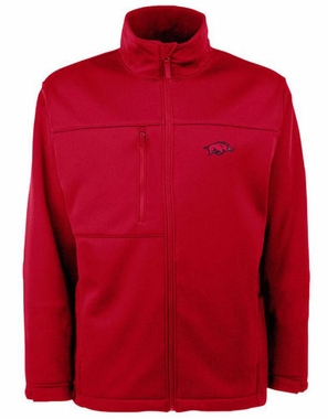 Arkansas Mens Traverse Jacket (Color: Red)