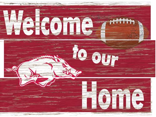 Arkansas Welcome Home Plank Sign