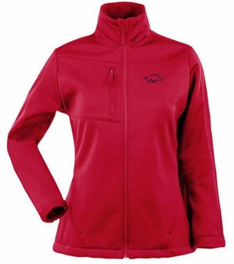 Arkansas Womens Traverse Jacket (Color: Red)