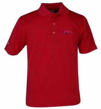 Arkansas YOUTH Unisex Pique Polo Shirt (Color: Red)