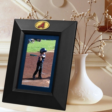 Atlanta Braves BLACK Portrait Picture Frame