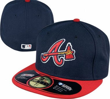 Atlanta Braves New Era 59Fifty Authentic Exact Fit Baseball Cap