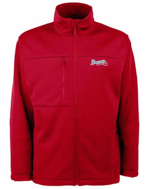 Atlanta Braves Mens Traverse Jacket (Color: Red)