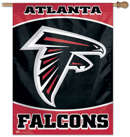 "Atlanta Falcons 27""x37"" Banner"