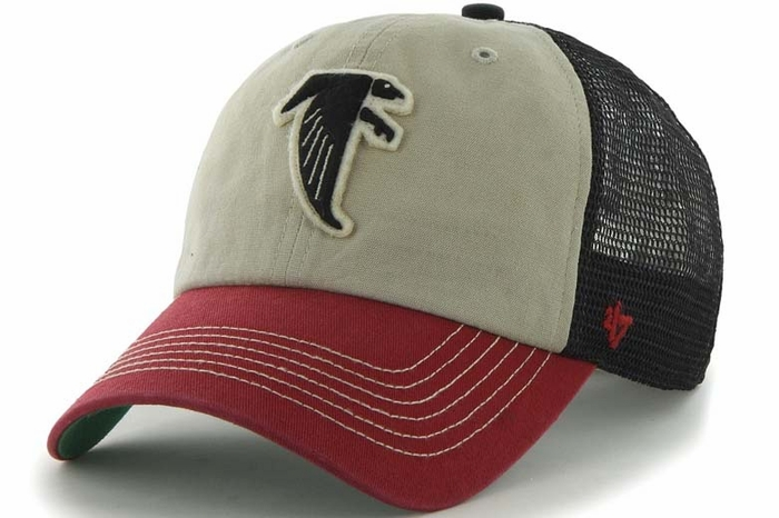 Atlanta Falcons 47 Brand McNally Throwback Mesh Back Adjustable Hat bba989044