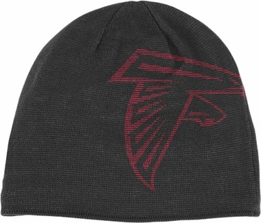 Atlanta Falcons Big Logo Knit Hat