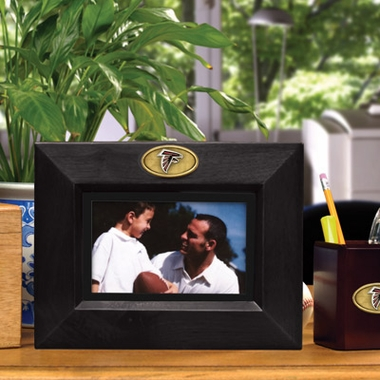 Atlanta Falcons BLACK Landscape Picture Frame