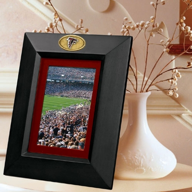 Atlanta Falcons BLACK Portrait Picture Frame
