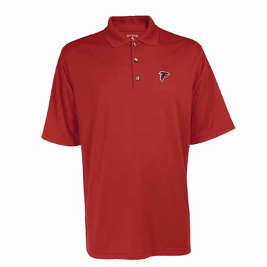 Atlanta Falcons Mens Exceed Polo (Color: Red)