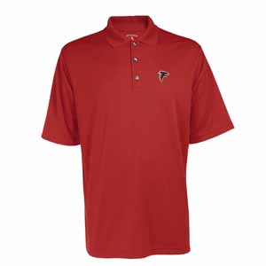 Atlanta Falcons Mens Exceed Polo (Color: Red) - Small