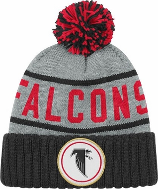 Atlanta Falcons High 5 Vintage Cuffed Pom Hat