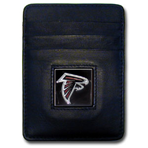 Atlanta Falcons Leather Money Clip (F)