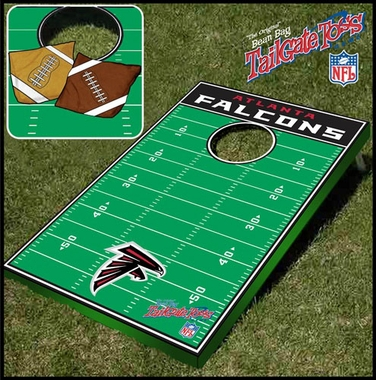Atlanta Falcons Tailgate Toss Cornhole Beanbag Game