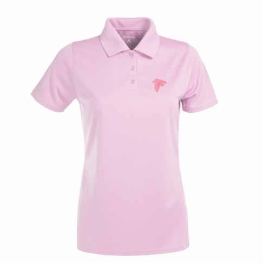 Atlanta Falcons Womens Exceed Polo (Color: Pink)
