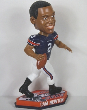 Auburn Cam Newton Thematic Base Bobblehead