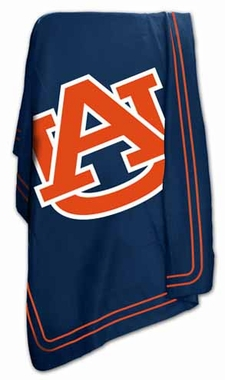 Auburn Classic Fleece Throw Blanket