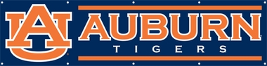 Auburn Eight Foot Banner