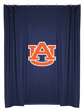 Auburn Jersey Material Shower Curtain