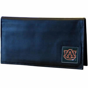 Auburn Leather Checkbook Cover (F)