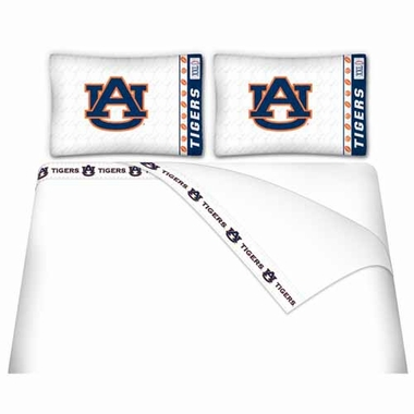 Auburn Queen Sheet Set