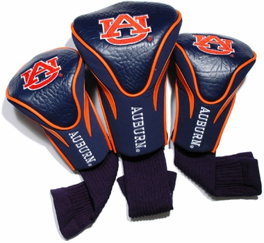 Auburn Set of Three Contour Headcovers