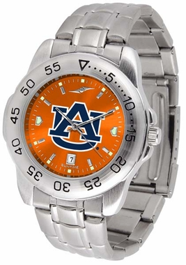 Auburn Sport Anonized Men's Steel Band Watch