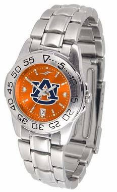 Auburn Sport Anonized Women's Steel Band Watch