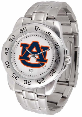 Auburn Sport Men's Steel Band Watch