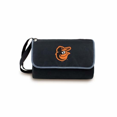 Baltimore Orioles Blanket Tote (Black)