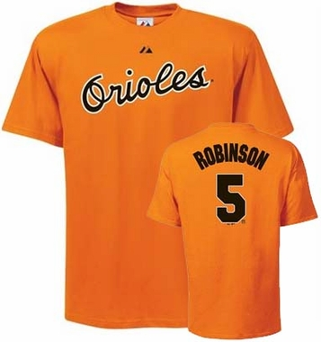 Baltimore Orioles Brooks Robinson Name and Number T-Shirt