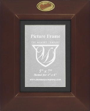 Baltimore Orioles BROWN Portrait Picture Frame