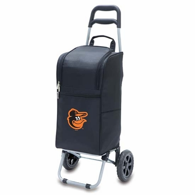 Baltimore Orioles Cart Cooler (Black)