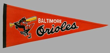 Baltimore Orioles Cooperstown Wool Pennant