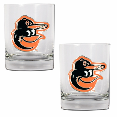 Baltimore Orioles Double Rocks Set