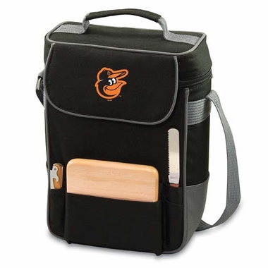 Baltimore Orioles Duet Compact Picnic Tote (Black)