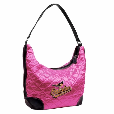 Baltimore Orioles Quilted Hobo Purse