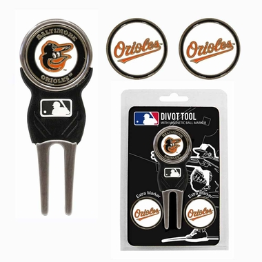 Baltimore Orioles Repair Tool and Ball Marker Gift Set