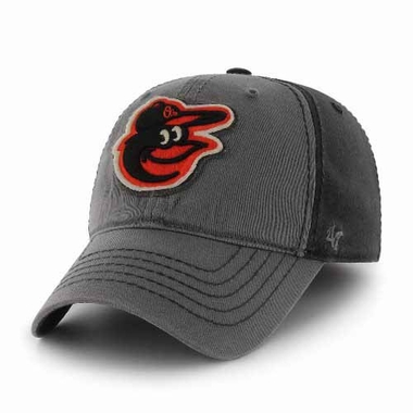 Baltimore Orioles Saluki Stretch Fit Hat - Charcoal
