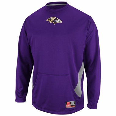 Baltimore Ravens Coverage Sack II Crew Sweatshirt