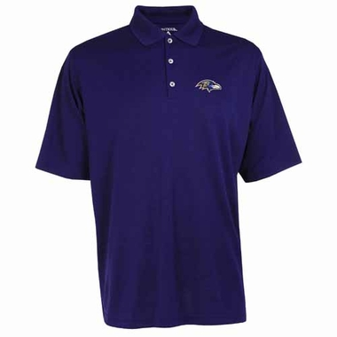 Baltimore Ravens Mens Exceed Polo (Color: Purple)