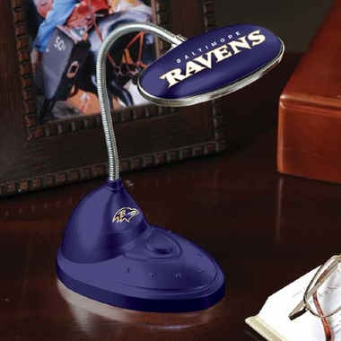 Baltimore Ravens Mini LED Desk Lamp