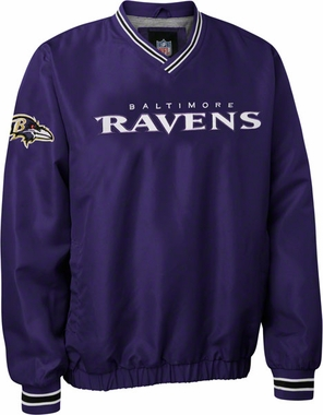 Baltimore Ravens Pre-Season Wordmark Pullover Jacket