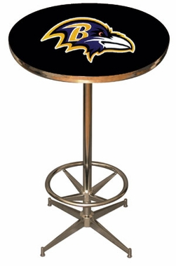 Baltimore Ravens Team Pub Table