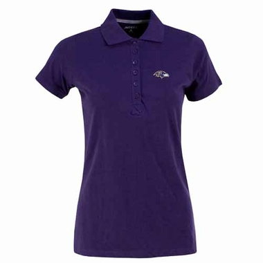 Baltimore Ravens Womens Spark Polo (Color: Purple)